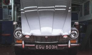 Car hood needing inspection